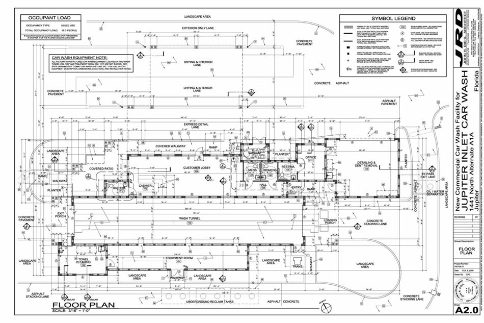 Car Wash Architect – Car Wash Site Plans