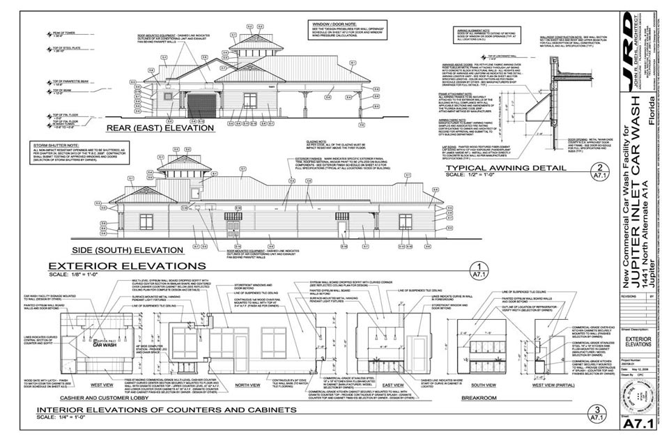 Car Wash Architect – Site Drawings For Site Plan